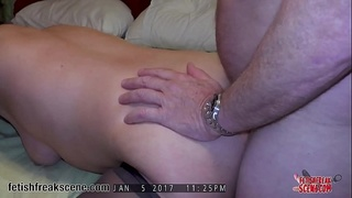 Real husband and wife amateur anal sex video