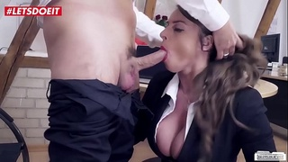 LETSDOEIT - Valentines Day Spent Riding Cock At The Office