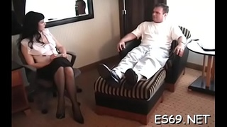 Aroused lady adores fucking