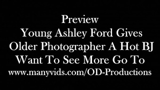 Preview Young Model Ashley Ford Sucks My Cock