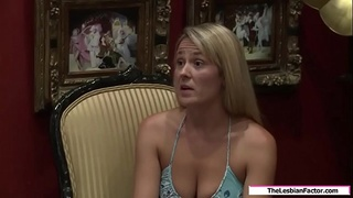 Lesbian milf fucked by her stepdaughter