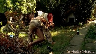 NT punished beauty getting assfucked