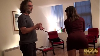 PASCALSSUBSLUTS - Submissive Adreena Winters ass fucking