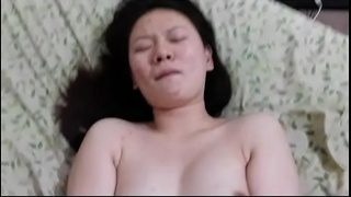 College Chinese girl Heather  Liu spreads legs get fucked