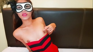 I play with my little Thai tits - Alicia Asia