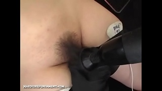 Bound Toyed Teased And Vibed In Asian BDSM Threesome Action
