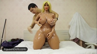 The World&rsquo_s Biggest Ass TPE Sex Doll, Sex with Biggest Butt Love Doll Big Booty Real Doll