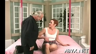 Insatiable woman is showing her poon tang and ass
