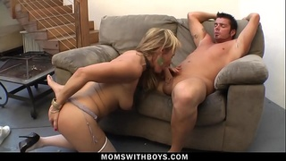 MomsWithBoys - Sultry MILF Kelly Leigh Hardcore Fucking