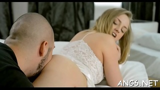 Admirable barely legal beauty Milana Fox gets wild licking