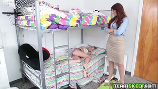 Headmistress wants some sexual attention from hot teen Scarlett Sage!