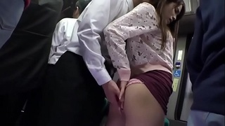 Best Japaness Butt in Train
