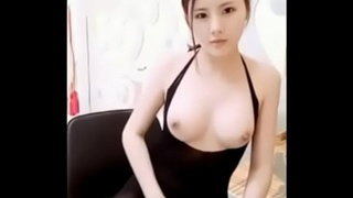 Chinese Art School Student Showing off herself 04 - Cucumber
