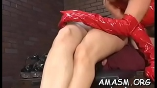 Enchanting woman gets it doggystyle