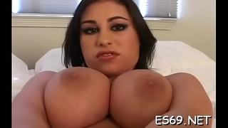 Tool riding ends with lots of sensual cutie '_s orgasms