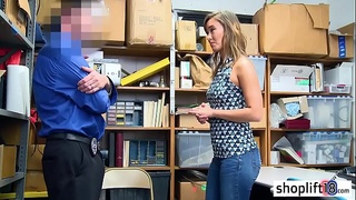 Asian MILF mom gives head and fucked by a LP officer