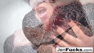 Jenevieve and Romi make some lesbian smut together!
