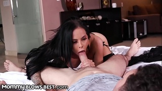 MommyBlowsBest Step Mom Sucks My Dick &amp_ I Look 4 A Job? DEAL!