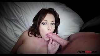 Sleeping MOM fucked by SON