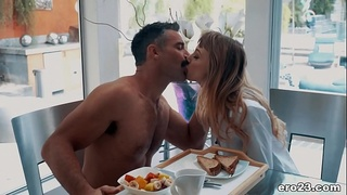 Passinate Morning Sex - Ivy Wolfe and Charles Dera
