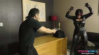 Shay Fox is on the prowl, evil as they cum