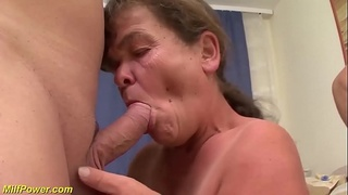 real midget couple in a threesome fuck orgy