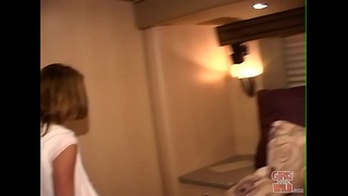 GIRLS GONE WILD - Angela and Carissa Get Intimate On The Tour Bus