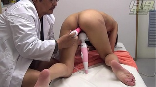 Up Close Pussy Examination by Doctor