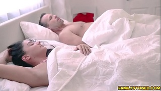 Esperanza del Horno gets pounded by her stepdad from behind