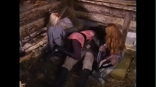 scene from russian porn movie awesome threesom  (brunnette, redhair, blonde)
