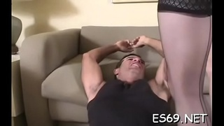 Indecent minded babes like to explore facesitting a lot