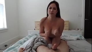 Stepsister hungry for a rough fuck