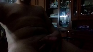 young strong guy and his dick