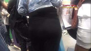 Wife get groped in subway