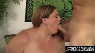 Massive BBW Erin Green Bounces Her Huge Ass as She Rides a Hard Cock