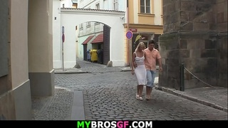 Guy spys for his cheating blonde gf