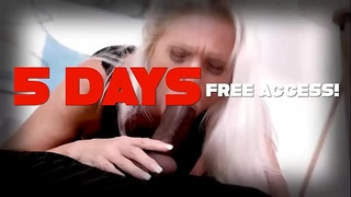Horny Teen Loves a Big Cock in Her Cunt