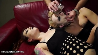 April Paisley and Foxy Snie - Extreme Filthy Puke Games