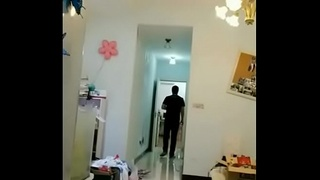 Chinese Amateur Fucks Delivery Man