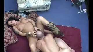 Busty wife fantastic facesitting porn moments with hubby