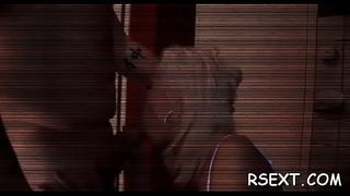 Hot fat hooker gets finger drilled and gives steamy blowjob