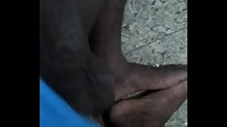 Tamil boy play with cock