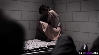 Two hostage strangers Eliza Jane and Ryan Driller both want their freedom and tricked into sex by the hijackers.