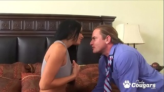 Mikayla Rides A Thick Dick Reverse Cowgirl