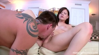alison rey rides her step dads big cock