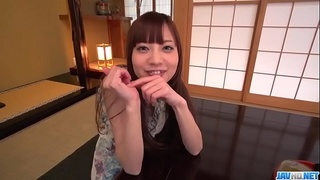 Yuria Mano wants to try toy porn before sex  - More at javhd.net