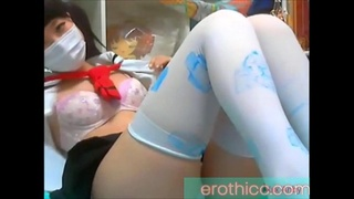 Cute japanese girl masturbating on cam erothicc.com