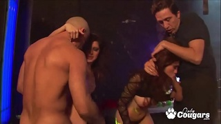 Sativa Rose and Kaiya Lynn Get Fucked At The Club