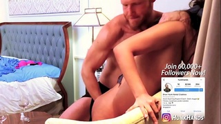 Asian STUNNER begs him to STOP.. multiple SQUIRTS all over hotel room! Real amateur oil massage (in SINGAPORE)