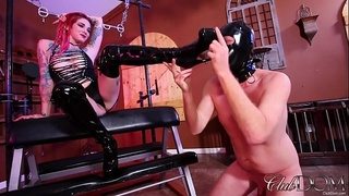 Sully Savage Boot Worship/Savagely fucked